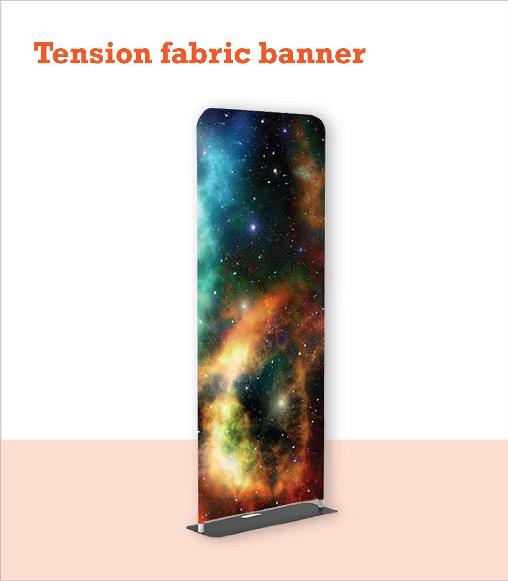 Church Tension Fabric Stand