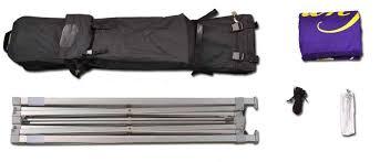 Move In Media Standard Pop Up 10x10 Tent Basic Kit